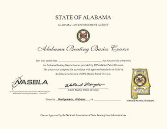 Alabama Boating License