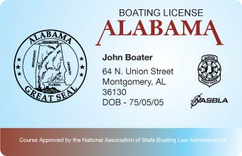 Alabama Boater Card