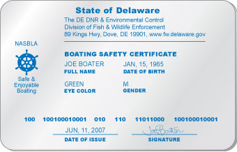 Delaware Boating License