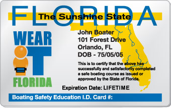 Florida Boating License