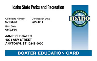 Idaho Boater Card