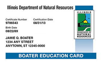 Illinois Boater Card