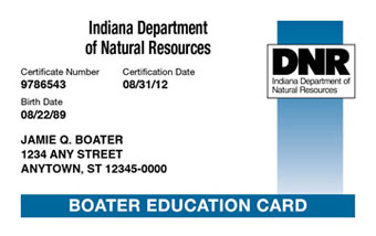Indiana Boater Card