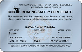 Michigan Boater Card
