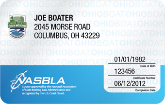 Ohio Boater Card