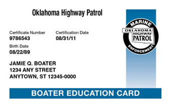 Oklahoma Boater Card