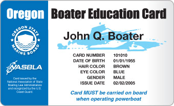 Oregon Boater Card