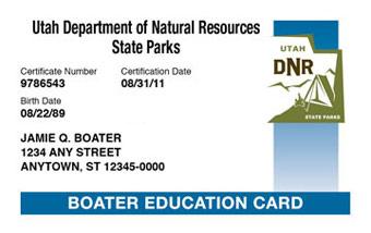 Utah Department Of Education >> Take Your Utah Boater Exam Online