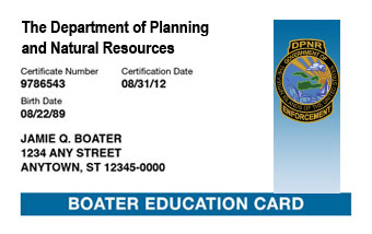 Virgin Islands Boater Card