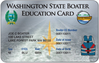 Washington Boater Card