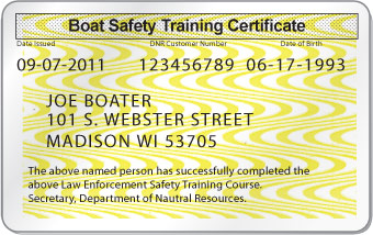 Wisconsin Boating License
