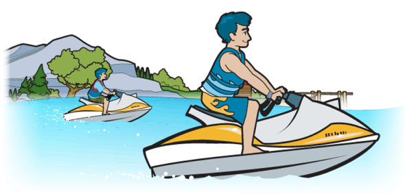 California jet ski pwc laws
