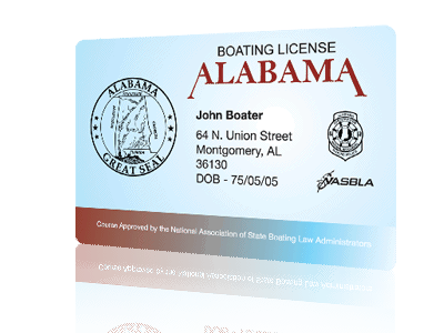 get your alabama boating license online | boaterexam®
