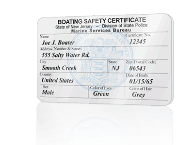 get your new jersey boating license online | boaterexam®