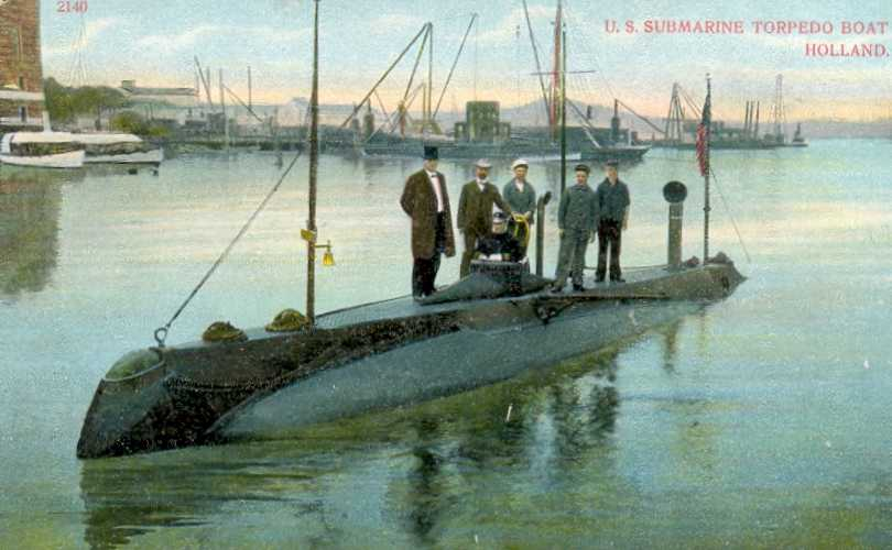 The Way They Were: A Look At The Early History of Submarines